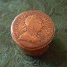 Antique Metal Snuff Box - British Georgian Coin 1811 (#CB62)