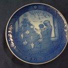 1981 Royal Copenhagen RC Christmas Plate