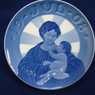 "1908 ROYAL COPENHAGEN RC CHRISTMAS PLATE  "" MADONNA AND CHILD  """