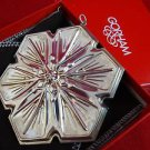 1992 Gorham Annual Sterling Silver Snowflake Ornament in Original Box