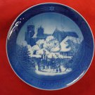 "1997 ROYAL COPENHAGEN RC CHRISTMAS PLATE  "" ROSKILDE CATHEDRAL """