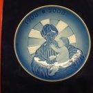 Royal Copenhagen Blue Classics, Centennial Plate 2008 Madona & Baby Jesus w/ box