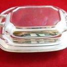 A Silverplate Casserole Dish Set by C.S.J.