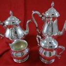 Prelude by International 4 Piece Sterling  Silver Tea Set