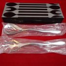 Alessi Mediterraneo Stainless Steel Salad Set in Factory Box Never Used