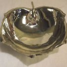 Beautiful Sterling Silver Footed Leaf Bowl Hand Made (#H51)