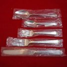 Oakleaf Stainless Steel 5 Piece Place Setting by Helmick/ONC