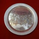 1973 Sterling Silver Danbury Mint Plate 8""