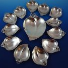 Sterling Silver Master Nut Dish with 12 Sm. Nut Dishes by Tiffany (2941)
