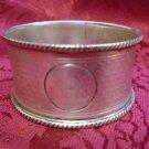 English London Sterling Silver Napkin Ring circa 1872 (#2098)