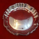 Silver Plate Tray with Raised Edge 12""