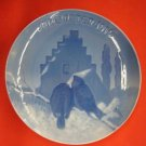 "1916 CHRISTMAS PLATE BING & GRONDAHL ""Prayer of the Sparrows"""