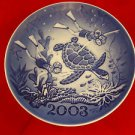 2003 Millenium Plate by Royal Copenhagen