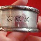 Vintage Sterling Silver Napkin Ring (#2358)