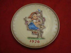 1976 Hummel Plate Apple Tree Girl