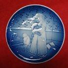 """1989 Bing & Grondahl B&G Children's Day Plate """"Bedtime"""""""
