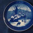 1967 Royal Copenhagen RC Christmas Plate