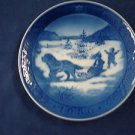 1986 Royal Copenhagen RC Christmas Plate