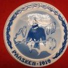 "1919 Bing & Grondahl Easter Paasken Plaque ""Black Bird"""