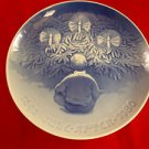 "1980 Bing & Grondahl Jubilee Plate ""Happiness Over the Yule Tree"""