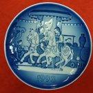 """1993 Bing & Grondahl B&G Children's Day Plate """"Carousel"""""""