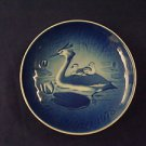 1978 BING & GRONDAHL B&G MOTHER'S DAY PLATE HERON & YOUNG
