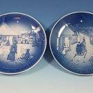 2016 Bing & Grondahl  B&G Christmas Plate ---  Buy one, get one 1979 B&G FREE