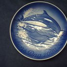 2000 BING & GRONDAHL B&G MOTHER'S DAY PLATE DOLPHINS