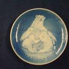 1974 BING & GRONDAHL B&G  MOTHER'S DAY PLATE  BEARS & CUBS
