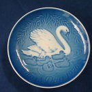 1976 BING & GRONDAHL B&G MOTHER'S DAY PLATE SWAN & CYGNETS