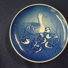 1973 BING & GRONDAHL B&G MOTHER'S DAY PLATE  DUCK & DUCKLINGS