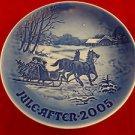 2005 B&G Bing & Grondahl Christmas Plate / Great Anniversary or Birthday Present
