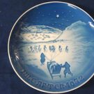 1972 CHRISTMAS PLATE BING & GRONDAHL B&G CHRISTMAS IN GREENLAND