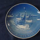 1966 CHRISTMAS PLATE BING & GRONDAHL B&G Home for Christmas