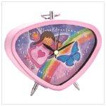Butterfly Angel Clock