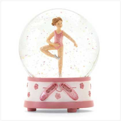 Laura Ashley Ballerina Waterglobe