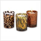 NEW! Safari Lites Votive Candles