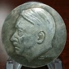 WWII WW2 Nazi German ADOLF HITLER medallion medal Coin Swastika