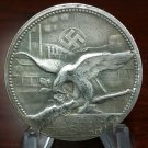 WWII WW2 Nazi German Shooting award medallion medal Coin Swastika