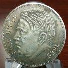 WWII WW2 Nazi German ADOLF HITLER 1938 Third Reich Coin