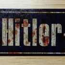 WWII WW2 Nazi German Adolf Hitler platz  street sign Road