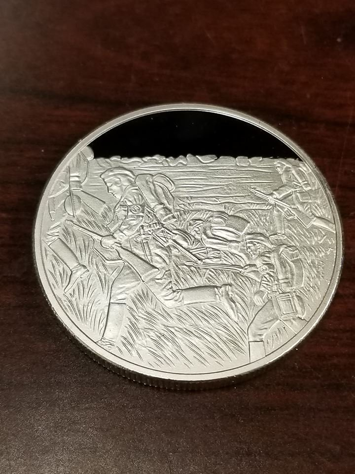 WWII WW2 Nazi German NSFK Fliegerkorps swastika silver medal coin medallion
