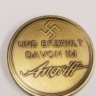 WWII WW2 German Nazi Zionist Der Angriff Anti semitic Goebbels swastika bronze medal coin medallion