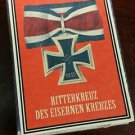 WWII Nazi German Knights cross Iron cross 1939 Vintage matchbox