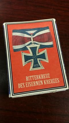 WWII Nazi German Knights cross Iron cross 1939 Vintage matchbox