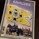 WWII Nazi German Luftwaffe Standarte Flag Kavalerrie Vintage matchbox