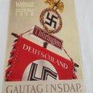 WWII WW2 Nazi German Flag Battle Propaganda Metal sign