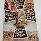 WWII WW2 Nazi German SS Waffen Battle Propaganda Metal sign