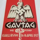 WWII WW2 Nazi German Flag Army Gavtag Propaganda Metal sign