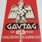 WWII WW2 Nazi German Flag Army Gavtag Propaganda Metal sign